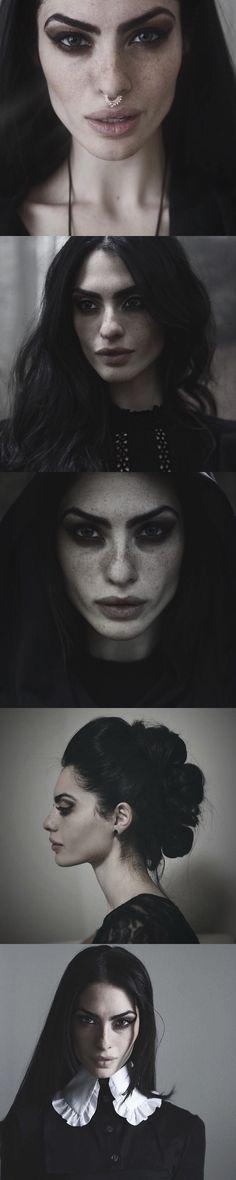 A'isha Segovia Amil - her makeup is always fiercely beautiful...