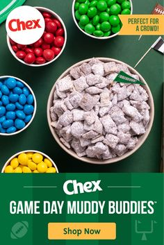 Chex Mix Recipes, Snack Recipes, Dessert Recipes, Cooking Recipes, Desserts, Game Day Snacks, Party Snacks, Super Bowl, Chex Cereal