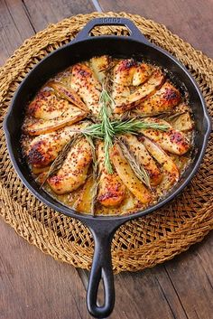 Honey Mustard Rosemary Chicken | 21 Fresh Ideas For Chicken Dinners
