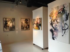 Muse & Co September show. Art by Mary Beth Cornelius front and center. Roswell GA