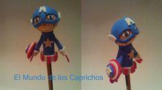 Fofulápiz Superhéroe Capitán América.