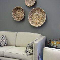 """Waters & Brown Custom Furniture linen twill sofa & C2 Paints """"Wall Street"""""""