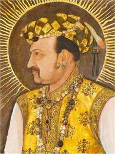 A portrait of Jahangir by Abul-Hassan in 1617