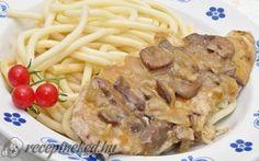 Bakonyi csirkemell recept fotóval