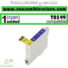 CARTUCHO COMPATIBLE EPSON T0549