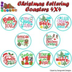Christmas Lettering Collection Machine Embroidery Design Collection 4X4 #EmbroideryDesigns #Christmas #quilt #sewing #MachineEmbroidery #embroidery #EmbroideryMachine #quilting Embroidery Software, Machine Embroidery Designs, Janome, Blue Rings, Handmade Items, Handmade Gifts, One Design, Marketing And Advertising, 4x4