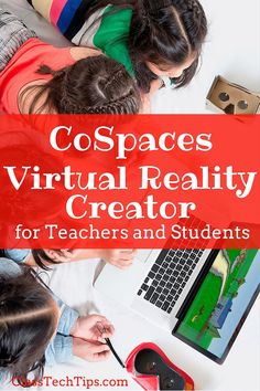 CoSpaces is a FREE virtual reality creator tool. It makes it possible to create virtual reality content yourself or let students make their own! So cool :)