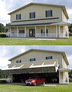 Nein, dass ist nicht mein Haus. Das ist meine Garage!
