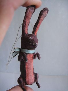 Bunny ornament for Easter or otherwise