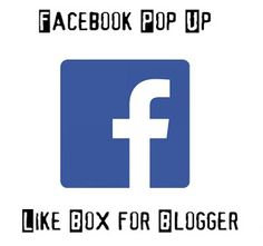 Today, In this article, we will show you that How to Add Facebook Popup Like Box Widget in Blogger.