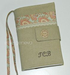 Made to Fit  Personalized Bible Cover Solid Vintage by elsiegeneva