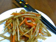 Kinpira Gobo take 2 (Stir-Fried Burdock Root and Carrots)