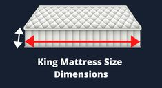 Everybody should know King mattress size dimensions because it will help you to choose the best mattress size which is suitable for you . King Size Mattress, Best Mattress, Stages Of Sleep, California King Mattress, Mattress Dimensions, Big Beds, When You Sleep, Large Beds