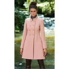 Resultado de imagem para casaco rosa
