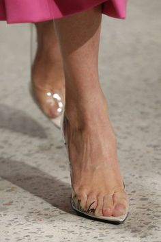17ea7179ddf 73 Best Clear Shoes   Clear Heels images