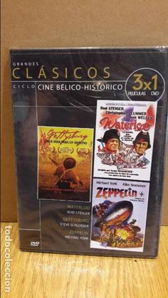 3X1 / WATERLOO / GETTYSBURG / ZEPPELIN / DVD - PRECINTADO.