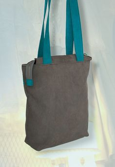 Leather shopper and backpack in one door NotYourAverageObject