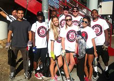 """The Daily Aztec : Community Service Reaps Rewards  """"Giving back with them -- it's something (we)do... Like you would go hang out with your friends at the mall, we do community service."""" Farlow said."""