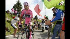Niro Quintana leaders jersey