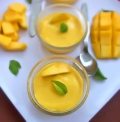 The Eggless Mango Mousse Recipe is a simple to make dessert made from fresh cream and ripe mangoes perfect for the season when mangoes are in plenty. You can also use mangoes pulps available in the market and recreate this delicious mousse recipe.