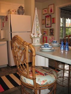Chinoiserie Chic: House Tour - The Kitchen