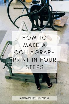 In this post I'll share my collagraph, or collograph as it also can be spelled, printmaking process with you. I'm fascinated by the unpredictability of collagraph printing… What Is Printmaking, Collagraph Printmaking, Printmaking Ideas, Arte Sketchbook, Free Art Prints, Linocut Prints, Teaching Art, Teaching Ideas, Gravure