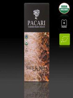 Pacari Ecuadorian Organic Chocolate Salt & Nibs - Sal Del Cuzco, 1.76-Ounce (Pack of 5) - http://goodvibeorganics.com/pacari-ecuadorian-organic-chocolate-salt-nibs-sal-del-cuzco-1-76-ounce-pack-of-5/