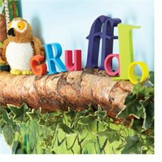 The Gruffalo Log Shelf, you could fill it with Gruffalo merchandise x3