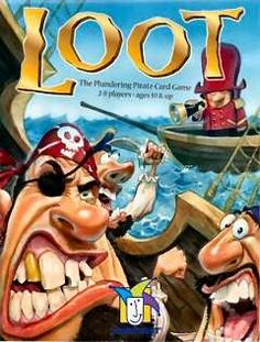 Loot / card game / Reiner Knizia / Gamewright / boardgamegeek