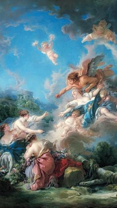 renaissance art Francois Boucher Boreas Abducting Oreithyia, 1769 Oil Painting Reproductions for sale Renaissance Paintings, Renaissance Art, Aesthetic Painting, Aesthetic Art, Classic Paintings, Beautiful Paintings, Baroque Painting, Baroque Art, Oil Painting Reproductions