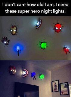 Avengers 3d wall art night lights bundle iron man hand lot of 7 avengers night lights aloadofball Choice Image