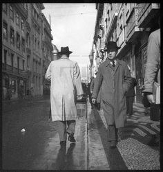 Rua Augusta, Lisboa, c. 1960.   A.N.T.T., «O Século», Joshua Benoliel
