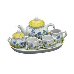 love tiny tea sets