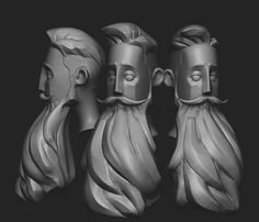 Hipster on Behance Zbrush Character, 3d Model Character, Character Modeling, Character Concept, Character Art, Character Design, Character Turnaround, Tarot, Cool Shapes