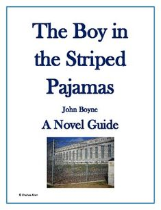 The Boy in the Striped Pajamas 37 Page Novel Guide Pre Reading Activities, Vocabulary Activities, Vocabulary Graphic Organizer, Graphic Organizers, Boy In Striped Pyjamas, John Boyne, Nonfiction Text Features, Curriculum Mapping, Book Projects