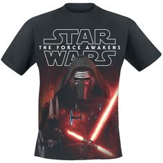 Episode 7 - The Force Awakens - Force Of Kylo Ren - T-Shirt by Star Wars