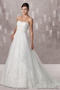 Kathy Ireland for Mon Cheri Spring 2013 Preview + Fall 2012 Collections — Sponsor Highlight | Wedding Inspirasi