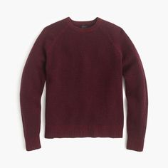 J.Crew Gift Guide: men's textured sweater.