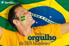 ORGULHO de ser brasileiro!