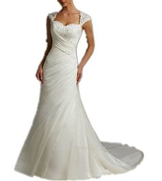 Miami Ivory Bateau Neck Wedding Dress For Bride Ball Gown Plus Size in Stock Miami Dress http://www.amazon.com/dp/B01ATSES6Y/ref=cm_sw_r_pi_dp_aweRwb0ME05YG