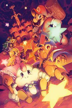 Artista: Gina Chacon  Juego: Super Mario RPG