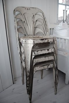 Gorgeous industrial chairs