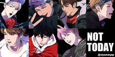 This Artist Transformed BTS Into Incredible Anime-Style Characters K Pop, Bts Not Today, Bts Anime, Anime Crafts, Kpop Drawings, Drama, Kpop Posters, Bts Chibi, Bts Fans