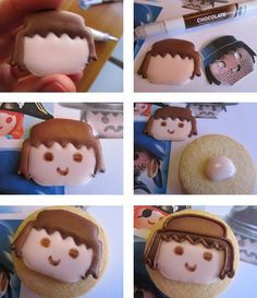 Playmobil cookie tutorial