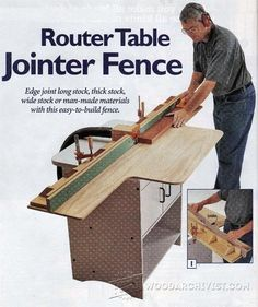 Precision router table fence plans router tips jigs and fixtures router table jointer fence router tips jigs and fixtures woodarchivist greentooth Gallery