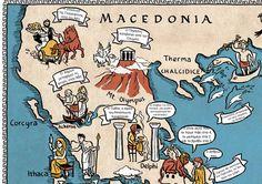 Map of Greek Mythology on Behance Homer Odyssey, Dorm Posters, Greece Map, Nice Handwriting, Hades And Persephone, Percy Jackson Fandom, Teaching History, God Of War, Ancient Greece