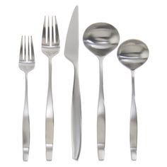 Gourmet Settings Balance Satin 20-pc. Flatware Set : Target