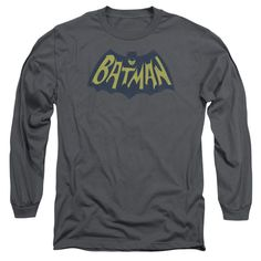 Batman - Show Bat Logo Adult Long Sleeve T-Shirt
