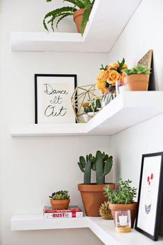 35 wesentliche Regal-Dekor-Ideen (ein Führer, zum Ihres Hauses zu gestalten)