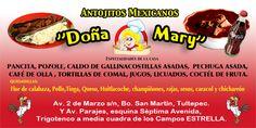 """Antojitos Mexicanos """"Doña Mary"""""""